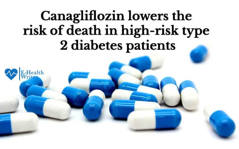 Canagliflozalin effect on death risk